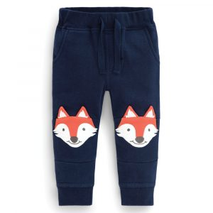 Fox Appliqué Sweatpants