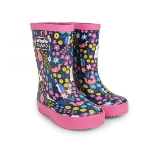 Woodland Patterned Children's Rain Boots