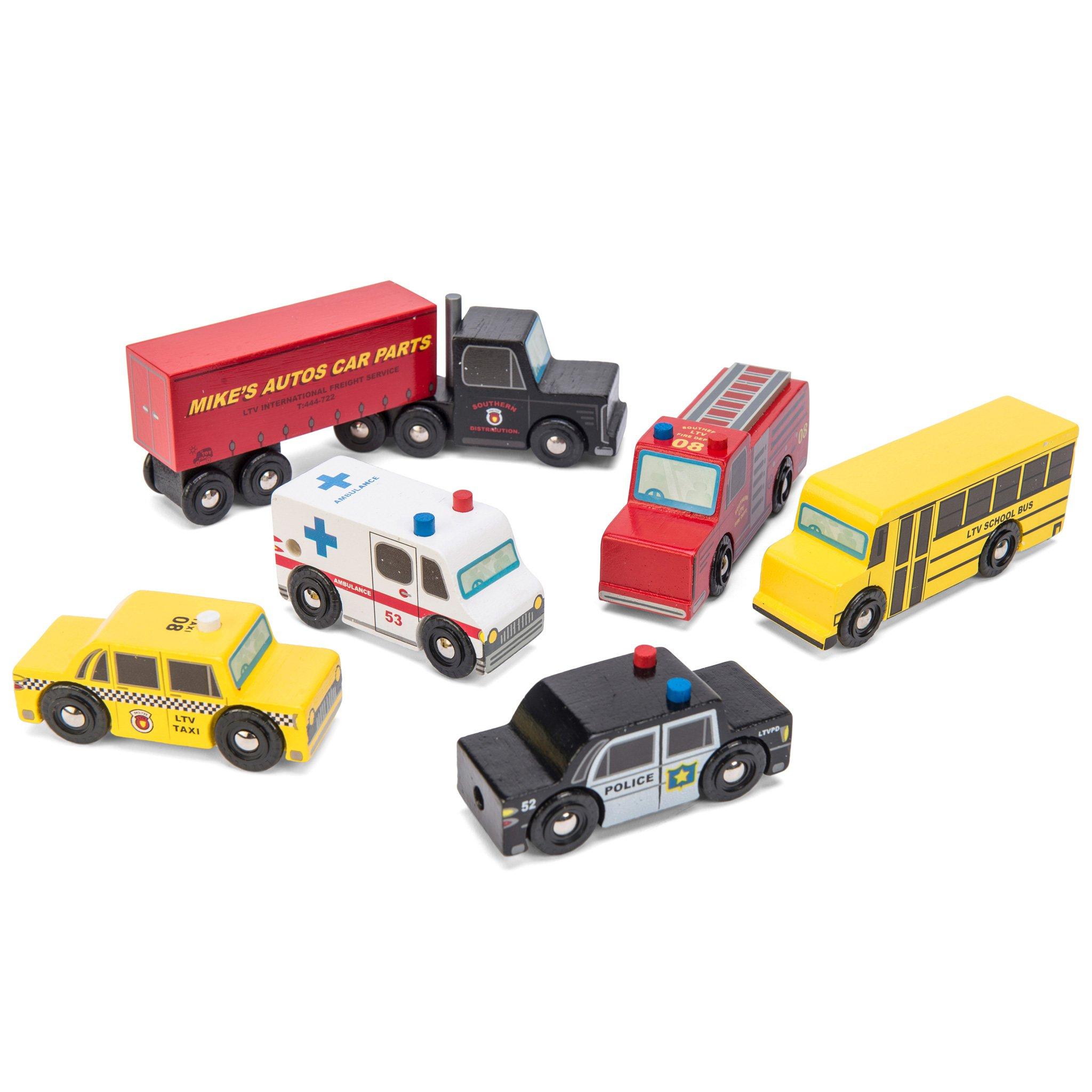 Le Toy Van New York Car Set